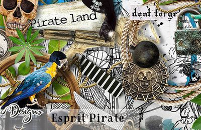 Collection Esprit Pirate et Freebies