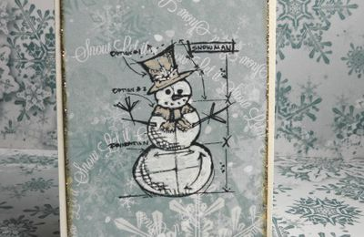 Christmas cards  Tim Holtz