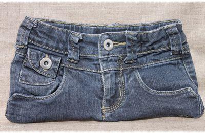 Pochettes en jean