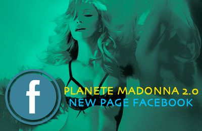 Planete Madonna 2.0 - New Page Facebook