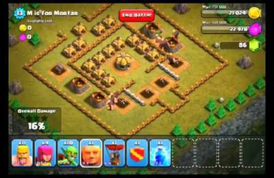 Clash of Clans Level 13 M pour Mortier