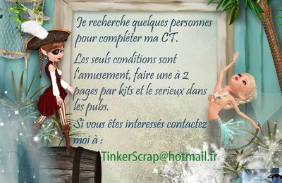 APPEL A CT DE TINKER SCRAP