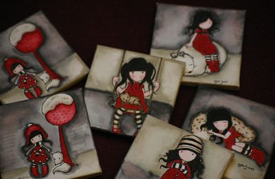 Mini canvas Gorjuss