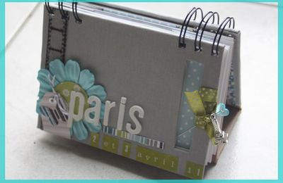 "Tuto mini album "" Paris"""