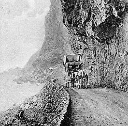 Route Bougie-Jijel -Les Grandes Falaises
