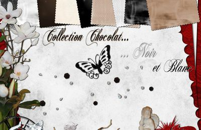 COLLECTION CHOCOLAT, NOIR ET BLANC