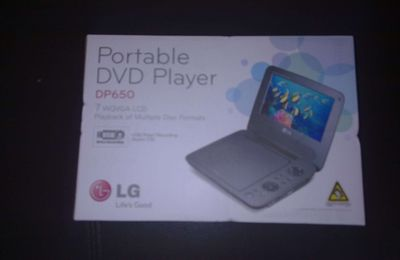 [Reception] Lecteur DVD Portable LG DP650
