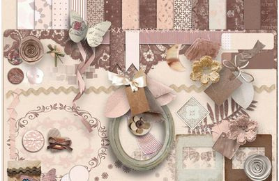 A dreams of a sweet romance de Leaugoscrap