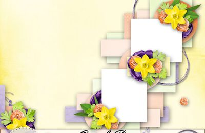 Quick page Blooming Bright par Anne-Valérie