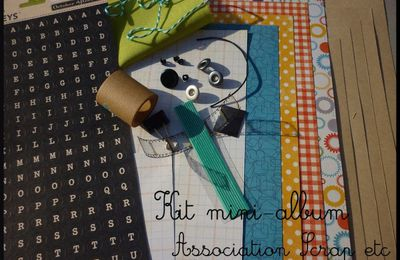 Mini-album de l'association Scrap etc...