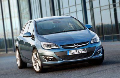 L'Opel Astra se donne un petit coup de peigne