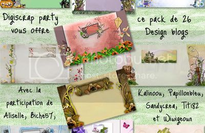 PACK DE DESIGN BLOG, FREEBIE