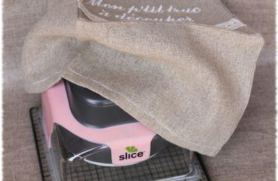 Nouvelle housse pour une machine de découpe : la Slice