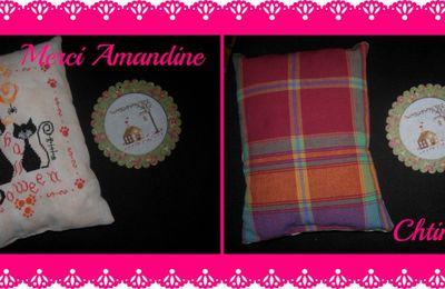 merci ... Amandine