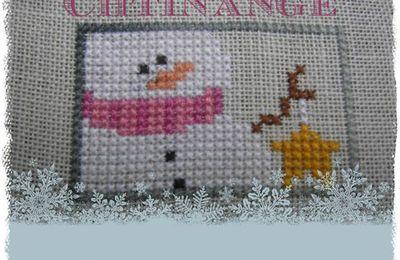 petit bonhomme de neige ... # finition