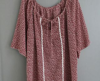 Ma blouse paysanne: terminée