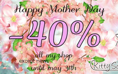 HAPPY MOTHER DAY SALES....=...- 40%