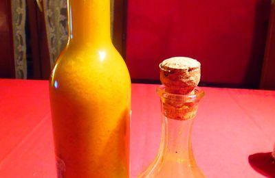 Vinaigrette Au Curcuma