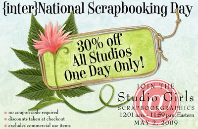 National Scrapbooking Day !!