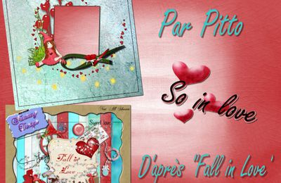 "Pack QP+Wordart ""So in Love"" by Pitto"