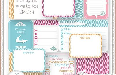 Journal cards set 4, Free