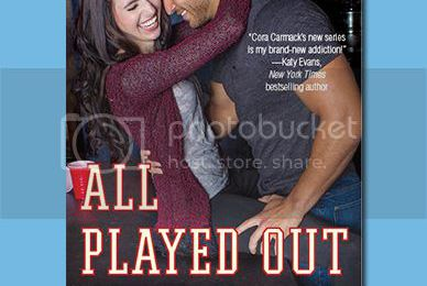 COVER REVEAL- Cora Carmack's ALL PLAYED OUT