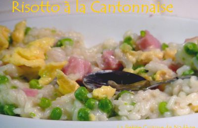 Risotto à la Cantonnaise made in Cook'in