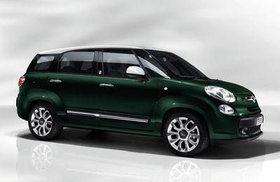 Fiat lève le voile sur la version longue de la 500L