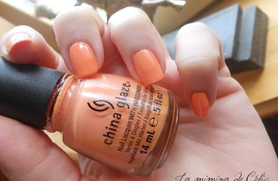 Peachy Keen ! China Glaze