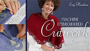 Cours de broderie machine cutwork