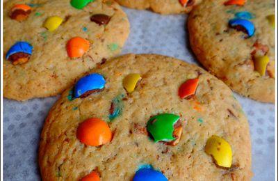 Maxi cookies aux M&M's