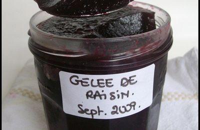 Gelée de raisin noir