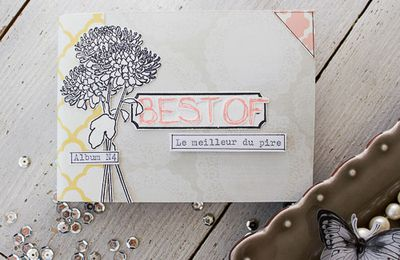 mini album scrapbooking un BEST OF