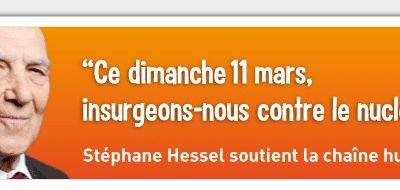 L'appel de Stéphane Hessel à manifester le 11 mars pour la sortie du nucléaire