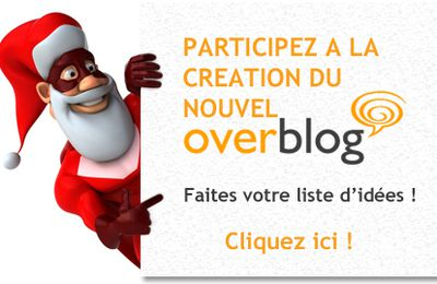 Participez à la conception de la prochaine version d'OverBlog !