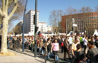 Manifestation toulousaine