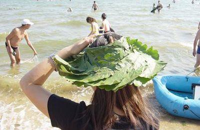 Beidaihe: Le beau chapeau chinois