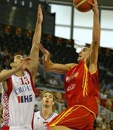 Eurobasket Juniors 2007 : Quarts de finale - Matches du 09/08/07 pour le Groupe F !