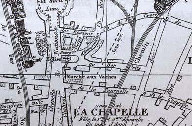 Plan du quartier La Chapelle