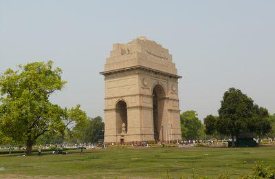 India gate à New Delhi