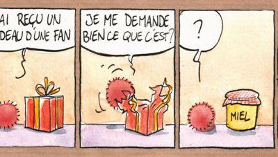 Winnie l'oursin ...