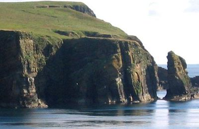 Cliffs-Orkney Islands- Scotland