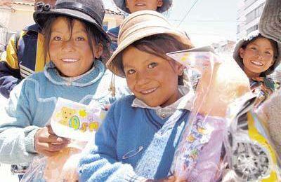 Les enfants boliviens