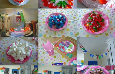 anniversaire de Lucie, 8 ans
