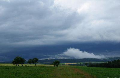 1er Août très orageux en Lozère