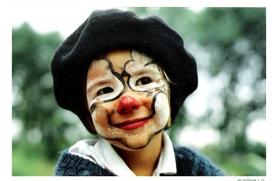"PORTRAIT d'une ""BILLE DE CLOWN"""
