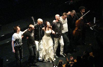 Within Temptation Theater Tour 14/11/08 Antwerpen: Report
