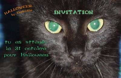 Invitation Halloween - Carte à imprimer