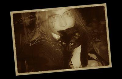 Retroloween ~ la Sorcière et son chat noir