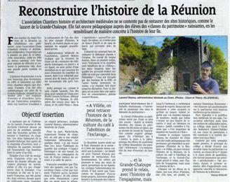 Reconstruire l'Histoire de la Réunion